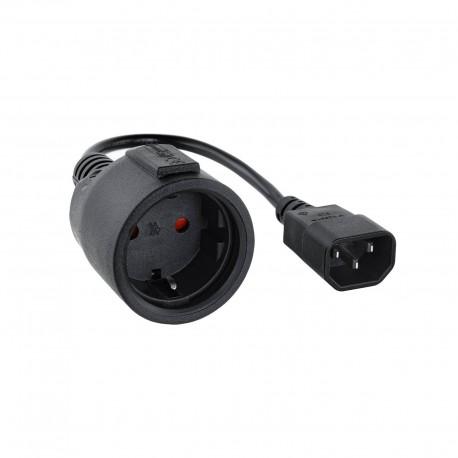 Conmutador Automatico Sobremesa Level One V/t/m 1a4 Cpus Usb Con Audio ...
