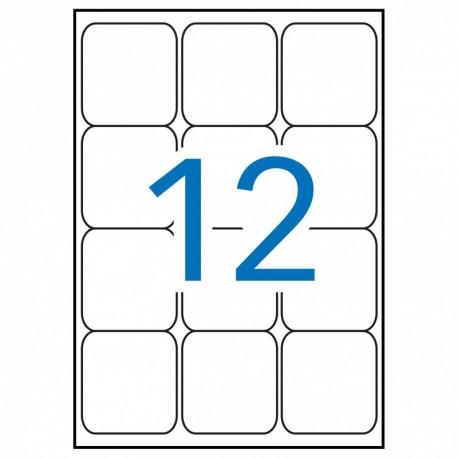 C. 50 Subcarp. Fade Simple A4 180gr Azul