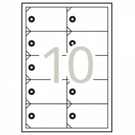 Pack 10 Carpeta Goma Carton Exacompta 3sol. Stdo