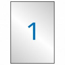 Blister 3u. Cartulina Purpurina Sadipal Rojo A4